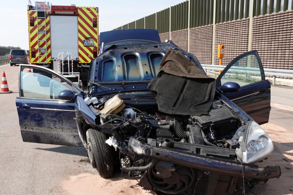 Auto überschlägt sich auf A9: Schwerverletzte in Klinik geflogen!