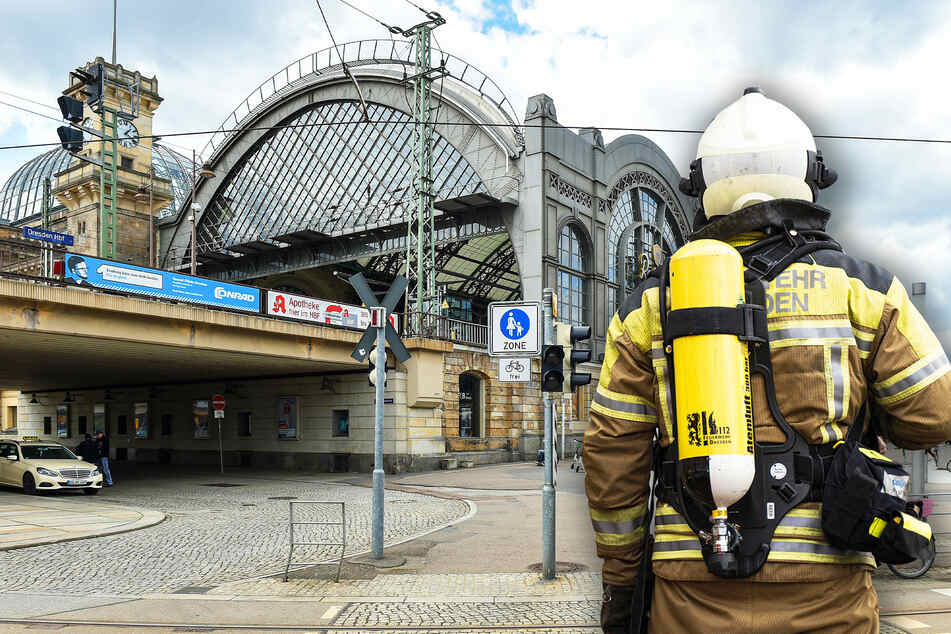 Die Feuerwehr rückte zum Hauptbahnhof aus (Symbolbild).