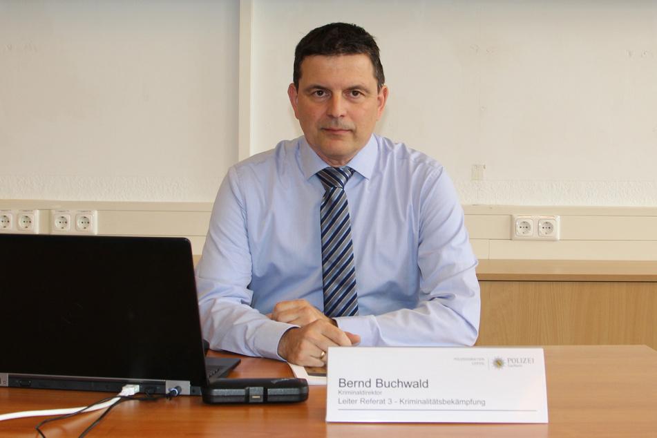 Wünscht sich ein bundesweites Fahrradregister: Bernd Buchwald (50), Referatsleiter für Kriminalitätsbekämpfung.