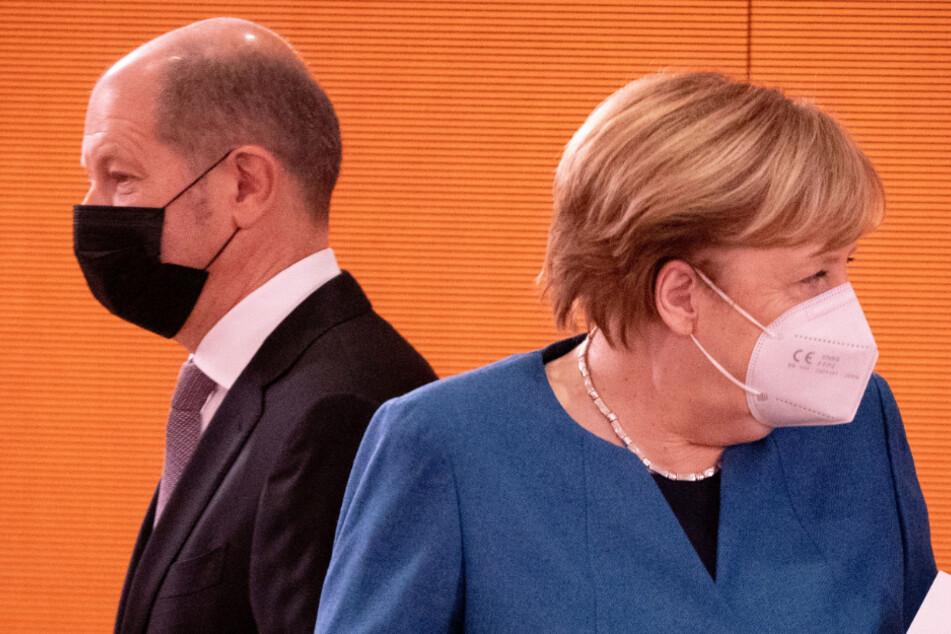 Vizekanzler Olaf Scholz (62, SPD) zeigt sich mit den Entscheidungen der Kanzlerin und der Länder zufrieden.