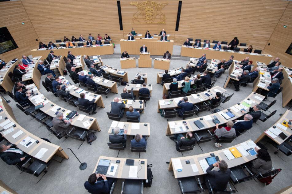 Der baden-württembergische Landtag befasst sich mit der Migrationskrise an der griechisch-türkischen Grenze. (Archivbild)