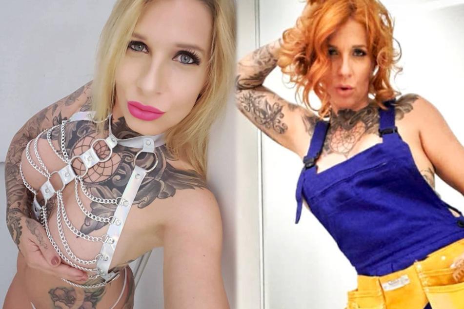 Erotik-Model Samy Fox war lange Zeit als Blondine unterwegs, dann wurde sie zum Rotschopf.