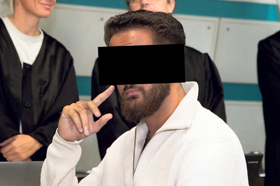 Wissam Remmo (23) wurde in seinem Auto in Berlin geschnappt.