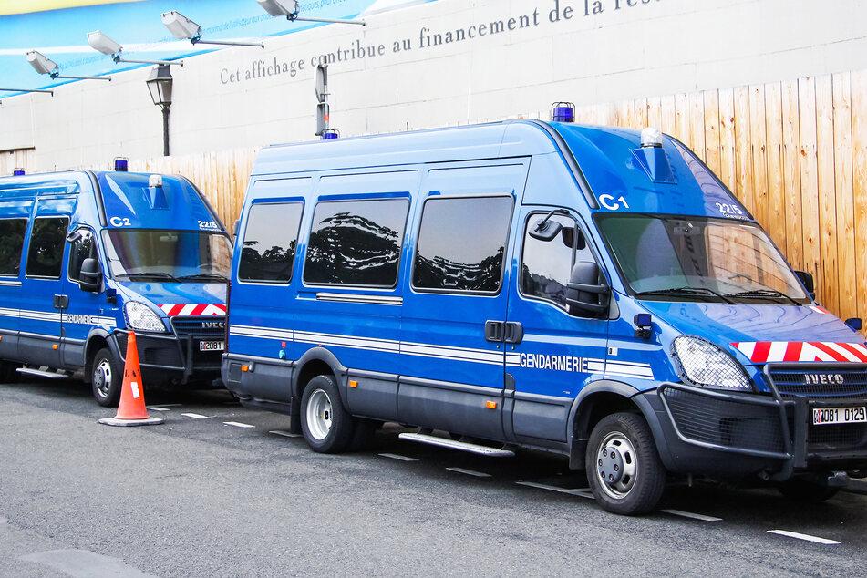 Die französische Gendarmerie suchte nach dem nun toten 33-Jährigen. (Symbolbild)