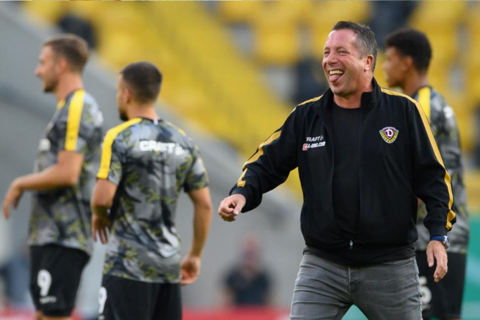 Bei aller Freude über den Pokal-Coup seiner Dynamos gegen den Hamburger SV - hundertprozentig zufrieden war Dresdens Trainer Markus Kauczinski trotzdem nicht.