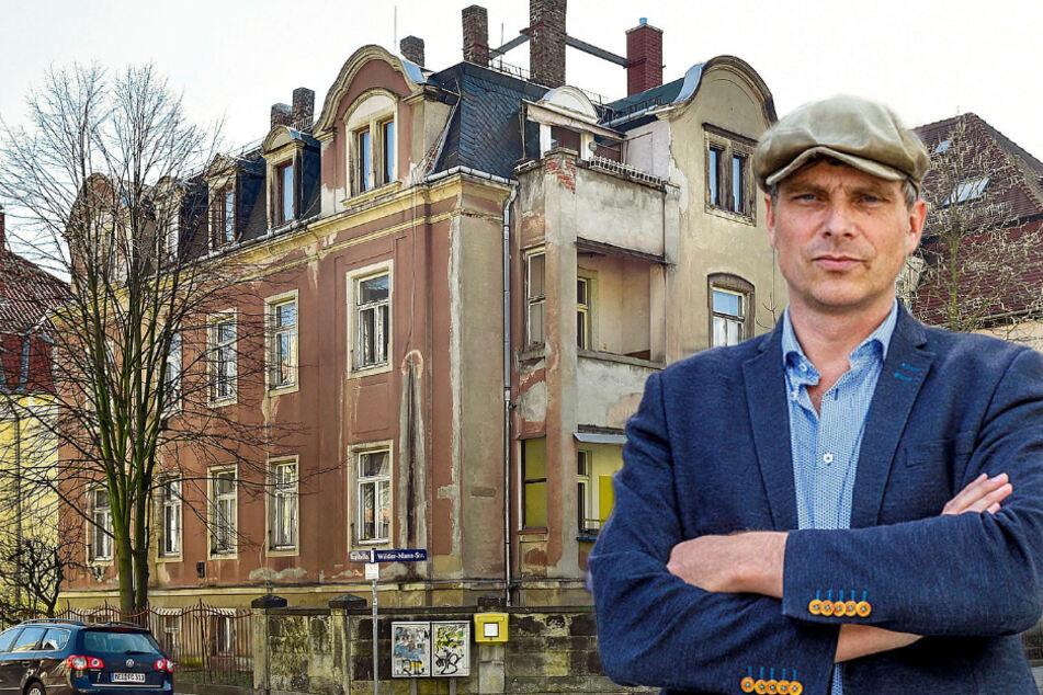 Dresden: Vom Abriss bedroht: So will dieser Politiker die Gründerzeitvilla in Trachau retten