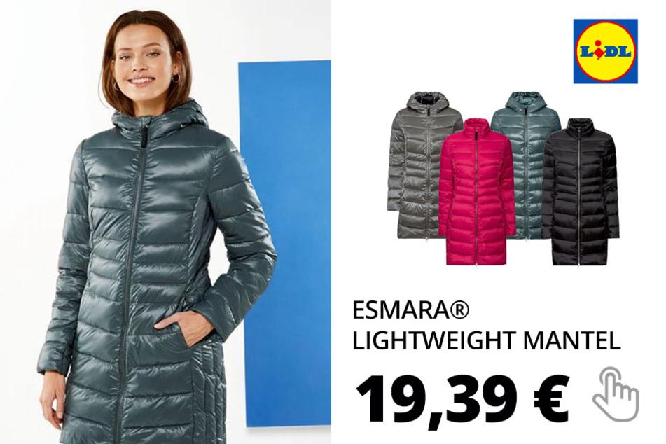 ESMARA® Lightweight Mantel Damen, mit Eingrifftaschen, Imprägnierung, wasserabweisend