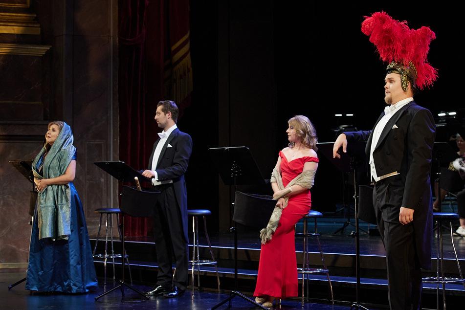"""""""Menschen, genannt Romanus, gehen die Bühne?"""": Die Vorbereitungen zur Premiere von """"Das Leben des Brian"""" neigen sich dem Ende."""