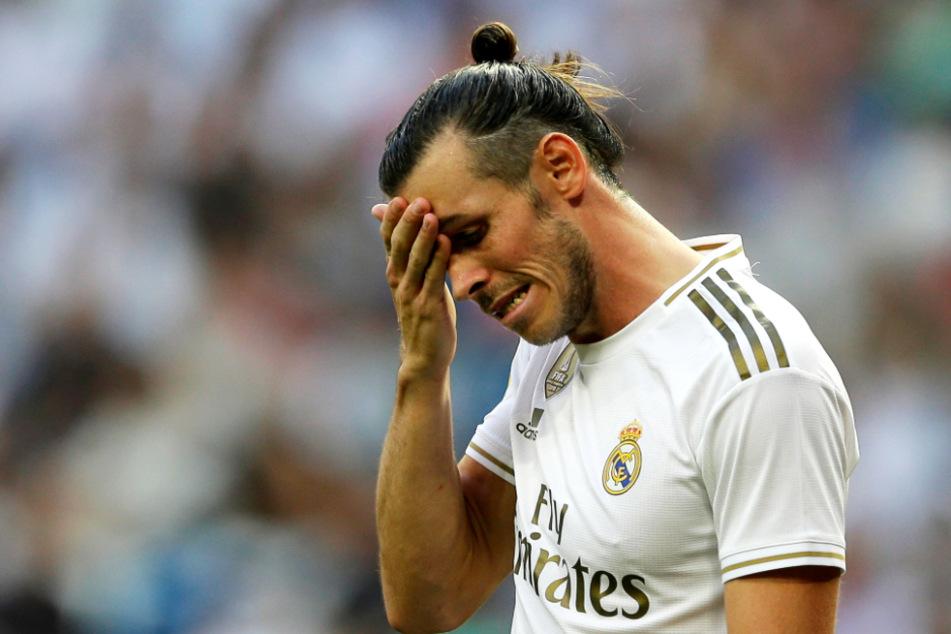 Gareth Bale stellte sich auf der Ersatzbank schlafend, während seine Kollegen spielten.