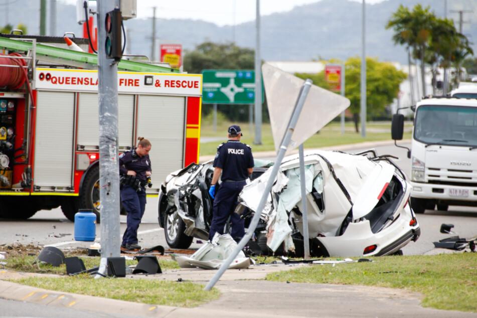 Vier Teenager sterben bei Autounfall: Nur 14-jähriger Fahrer überlebt