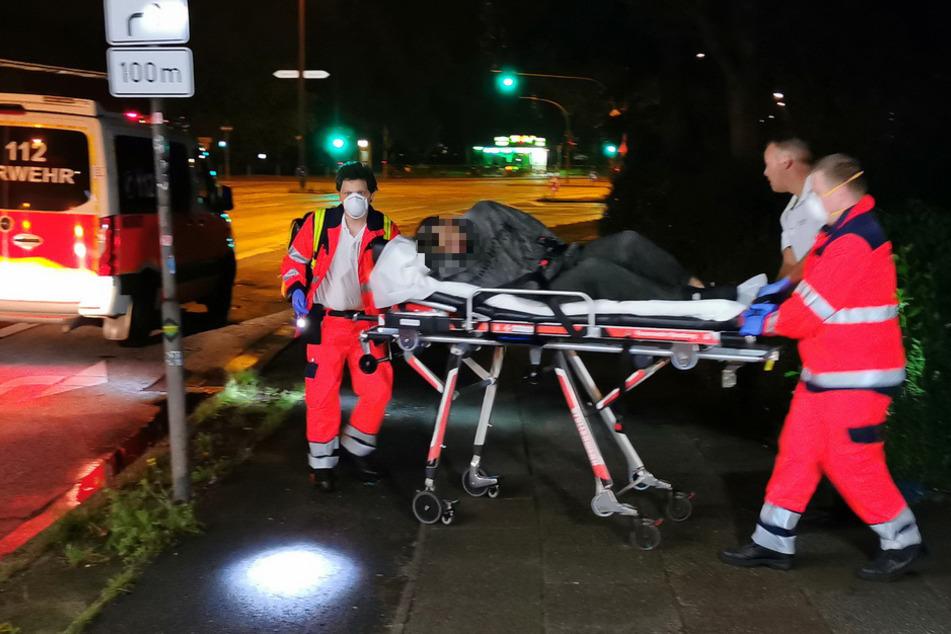 Mann flüchtet vor Verkehrskontrolle und muss plötzlich gerettet werden