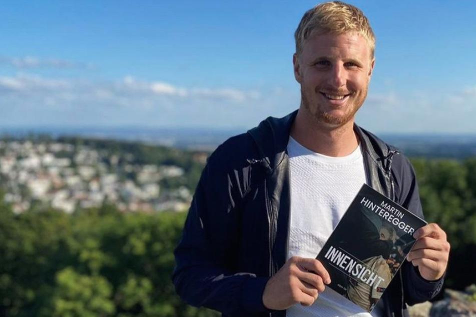 """Am 11. August erscheint Martin Hintereggers (28) Buch """"Innensicht"""", welches viele spannende Geschichten aus seinem Leben präsentieren soll."""