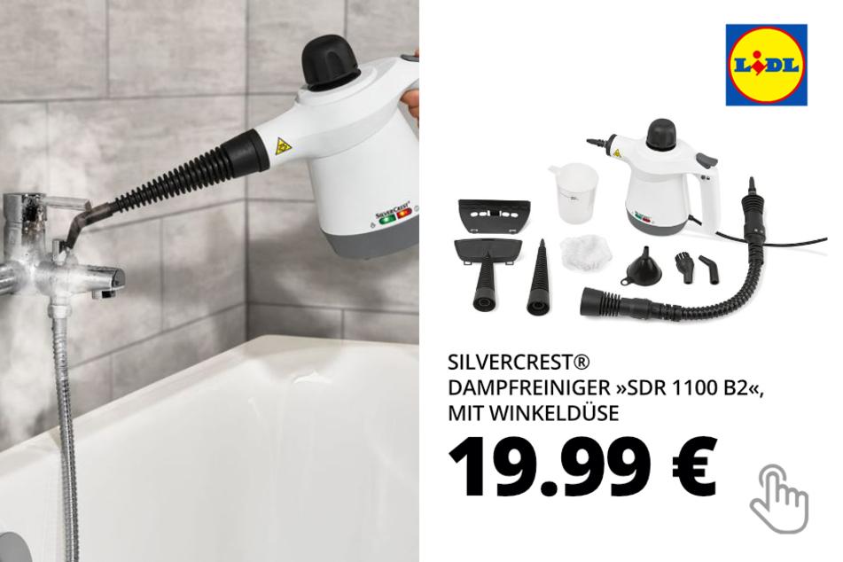"""SILVERCREST® Dampfreiniger """"SDR 1100 B2"""", mit Winkeldüse"""