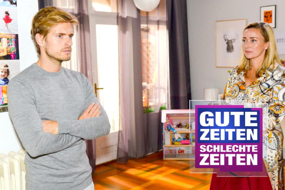 """GZSZ: GZSZ-Philip gesteht Patrizia seine Gefühle: """"Es geht mir um mich!"""""""