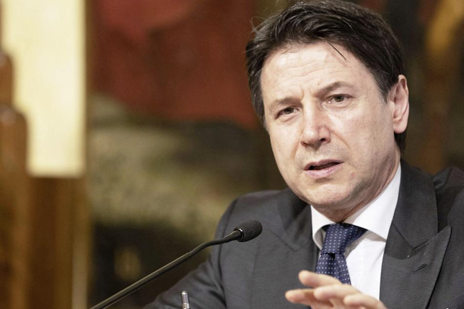 Regierungschef Giuseppe Conte (55). (Archivbild)