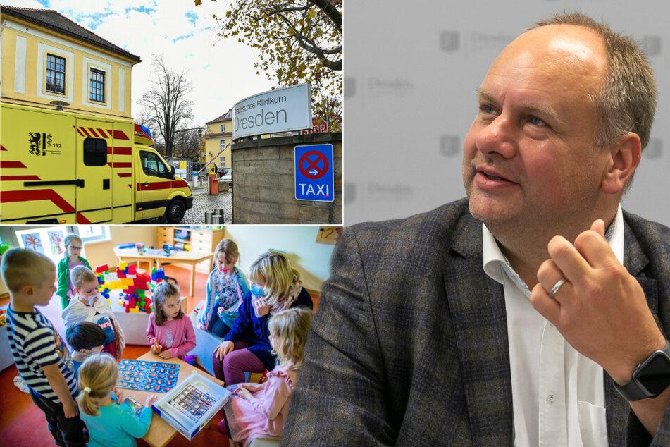 """""""Liste der Grausamkeiten""""! Kitas, Kliniken, Schulen: Hier muss Dresden nun den Gürtel enger schnallen"""