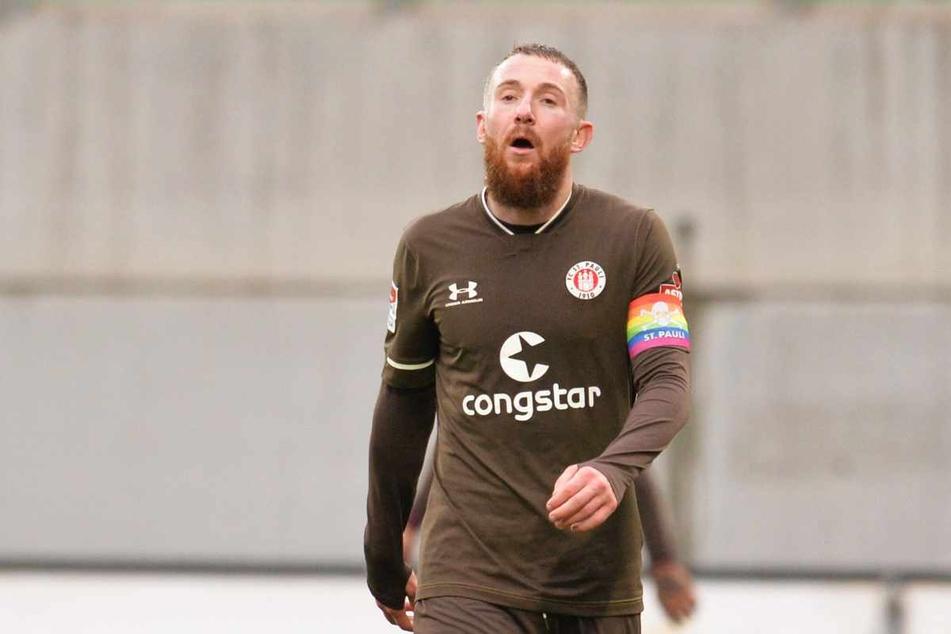 Hinter Marvin Knoll liegt eine enttäuschende Saison beim FC St. Pauli.