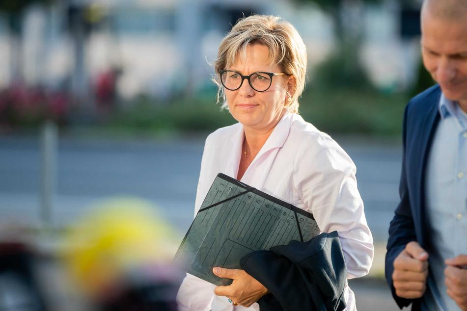 Sachsens Kulturministerin Barbara Klepsch (56, CDU).