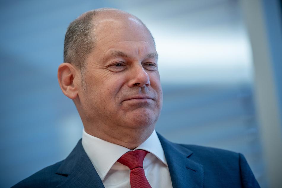 Bundesfinanzminister Olaf Scholz (62, SPD).