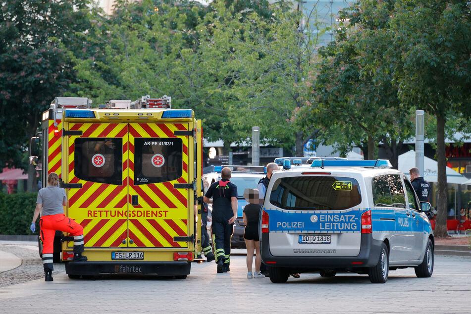 Im Chemnitzer Zentrum kam es zu Auseinandersetzungen mit mehreren Verletzten.