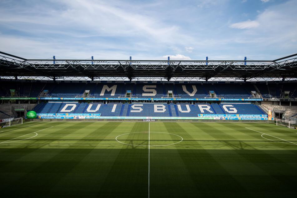 Die Schauinsland Reisen Arena in Duisburg wird am Sonntag leider leer bleiben. Das Spiel zwischen dem MSV und dem Halleschen FC wurde verschoben.