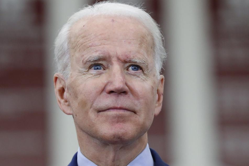 Detroit: Joe Biden, ehemaliger US-Vizepräsident und designierte Präsidentschaftskandidat der Demokraten, spricht auf einer Wahlkampfveranstaltung in der Renaissance High School.