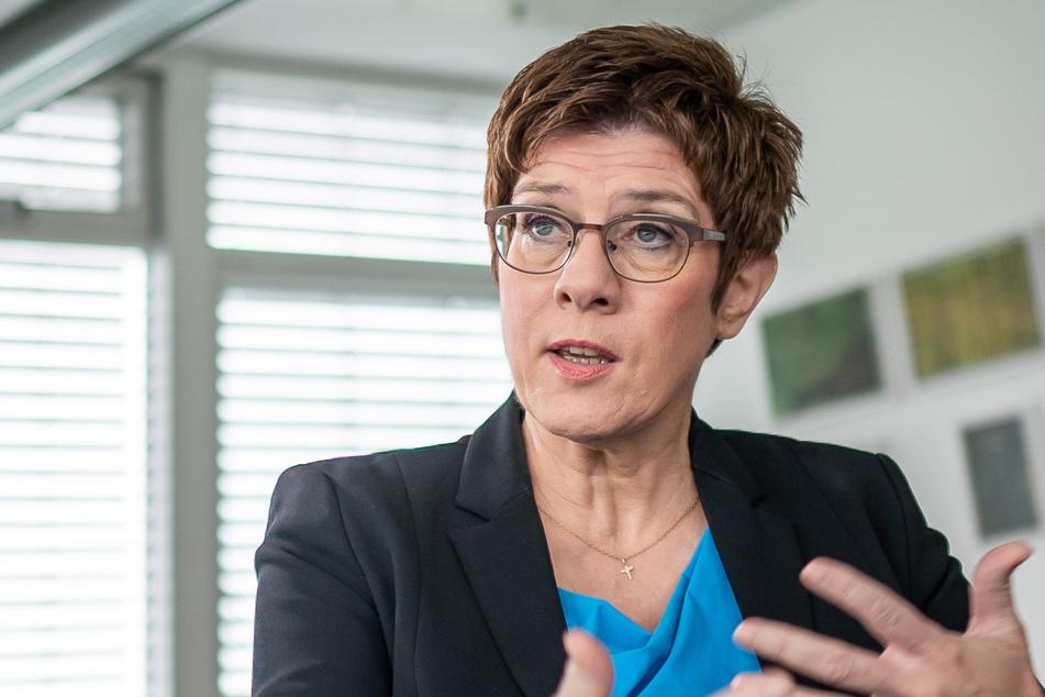Verteidigungsministerin Annegret Kramp-Karrenbauer (57, CDU). (Archivbild)