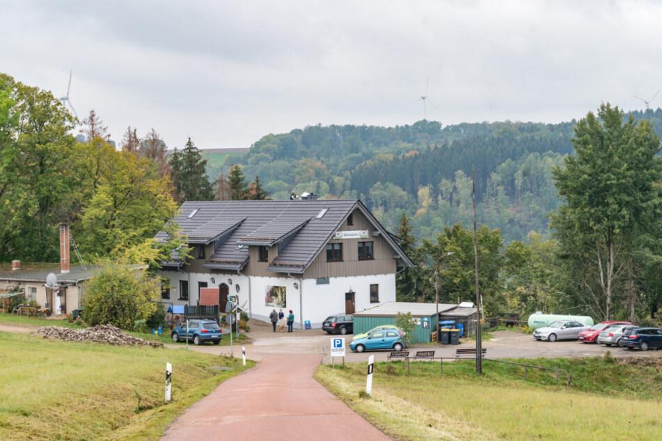 Die Waldschänke wurde in 21 Monaten wieder aufgebaut.