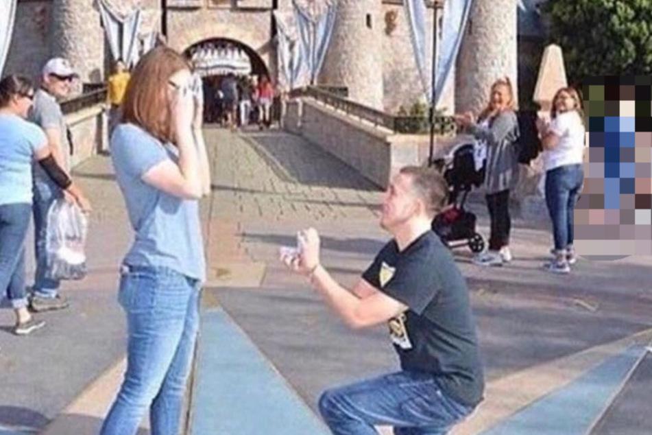 Mann will besonderen Heiratsantrag machen und kassiert dafür böse Kommentare im Netz