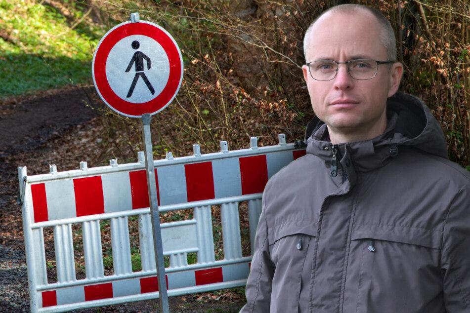 Bald können Besitzer öffentliche Feld- und Waldwege sperren: Chemnitzer kämpft dagegen