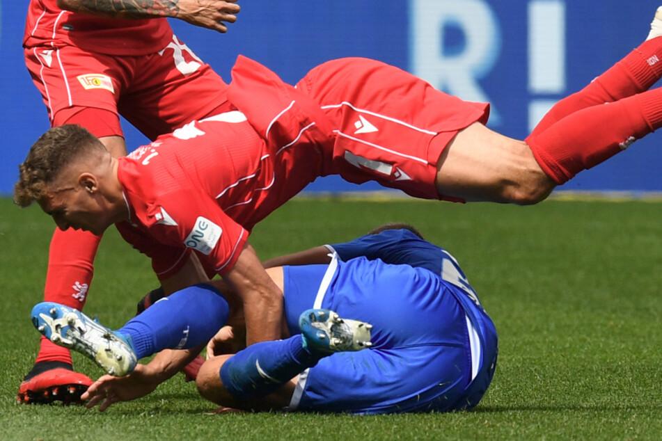 Viel Einsatz, wenig Ertrag: Der 1. FC Union Berlin hat gegen die TSG 1899 Hoffenheim am 33. Spieltag eine Niederlage kassiert.