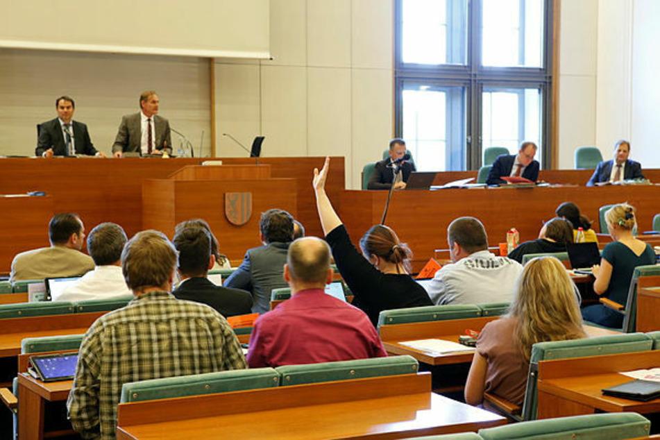 So tagt der Leipziger Stadtrat nun nicht mehr. Am Mittwoch wird erstmals digital abgestimmt.