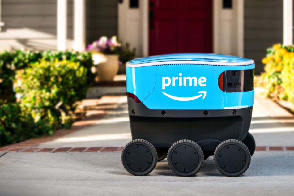 Amazon testet in Deutschland Software für kleine Lieferroboter