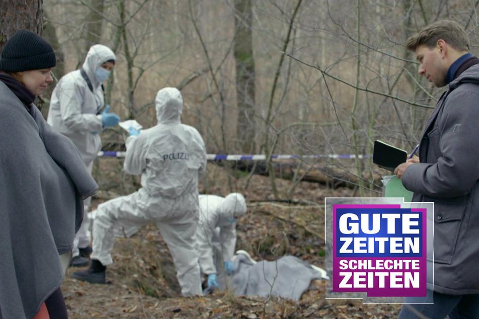 Mysteriöser Mord bei GZSZ: Wer ist der Tote im Wald?