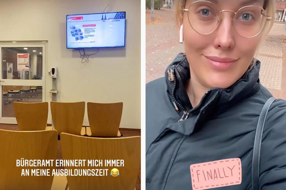 Nach ihrem Besuch beim Bürgeramt am Mittwoch ist Josimelonie (27) nun offiziell Kölnerin.