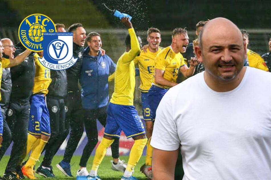 """Altglienicke-Boss sauer auf Loks Meister-Coach: """"Freunde werden wir nicht mehr"""""""