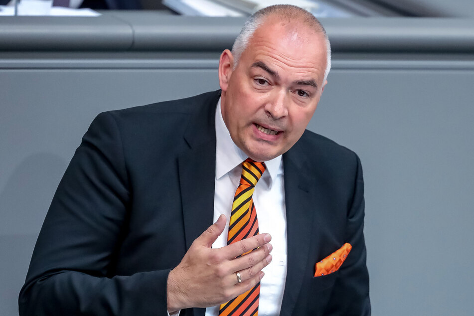 Axel Fischer (54) im Mai 2018 im Bundestag.