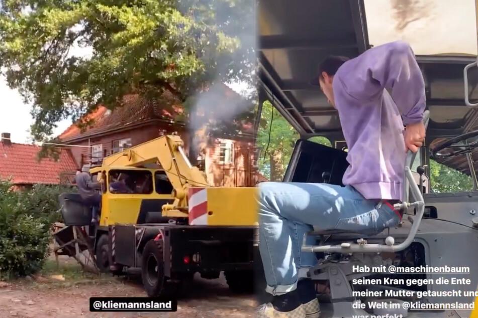 Horror im Kliemannsland! Fynn verliert Kontrolle über fetten Kran