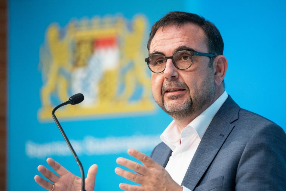 Klaus Holetschek (CSU), Gesundheitsminister von Bayern.