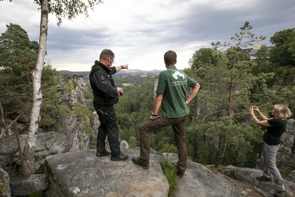 Polizei und Nationalpark gingen am Wochenende gegen Zündler im Nationalpark vor.