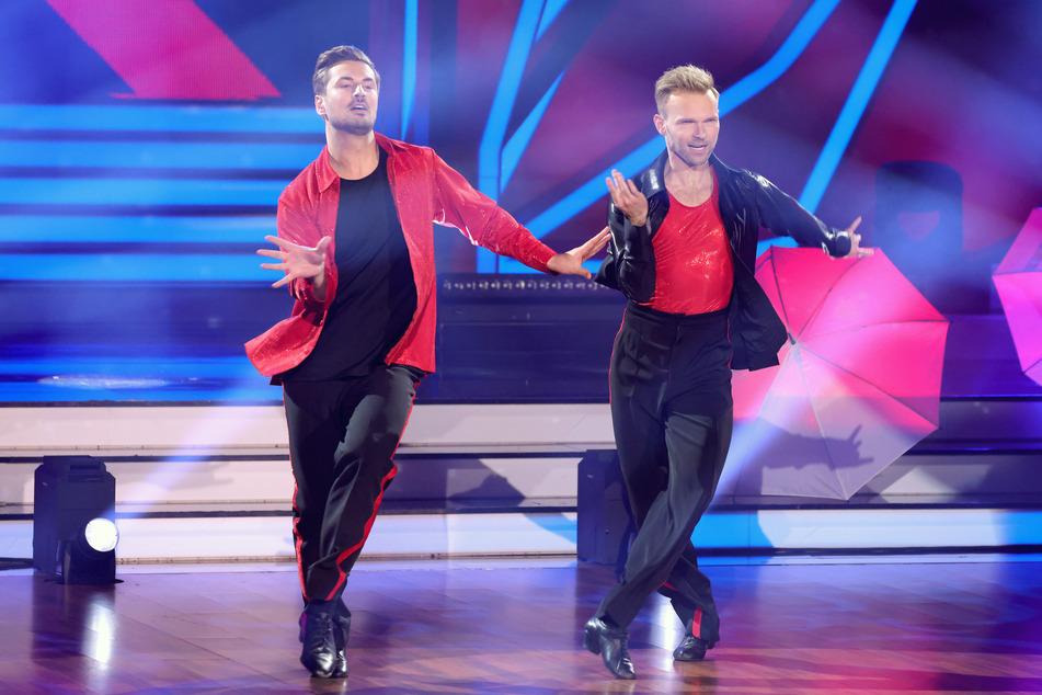 """Der ehemalige """"Prince Charming"""" Nicolas Puschmann (29) legte mit seinem Tanzpartner einen starken Auftritt hin."""