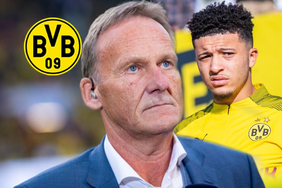 BVB-Boss legt nach und will Saison zu Ende spielen! Wende bei Jadon Sancho?