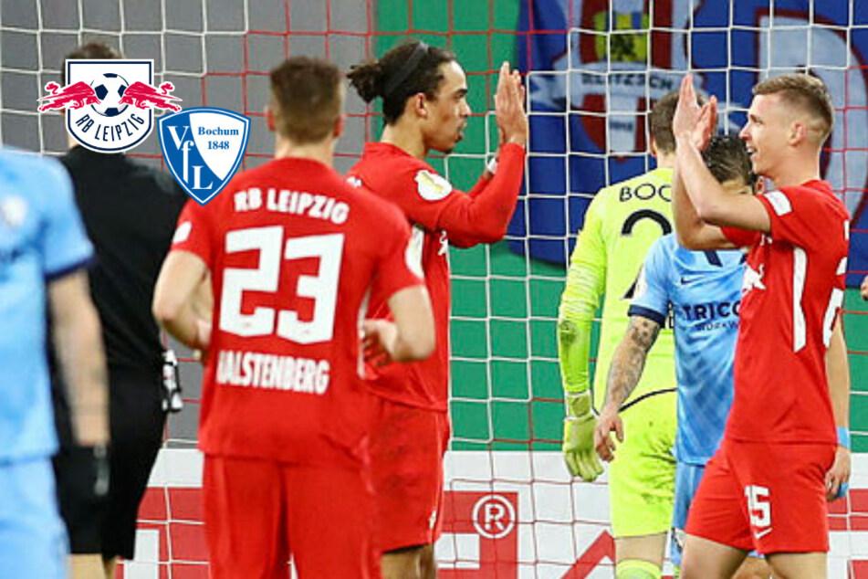 RB Leipzig lässt Bochum im DFB-Pokal keine Chance und hat das Finale vor Augen