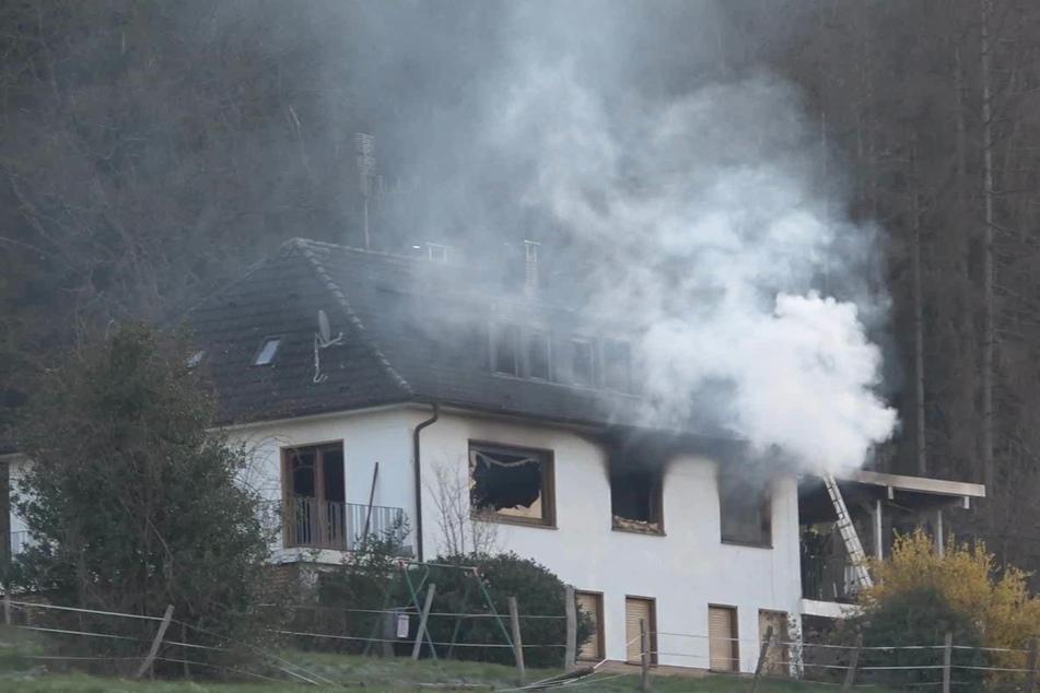 Ein Todesopfer nach Hausbrand in Windeck