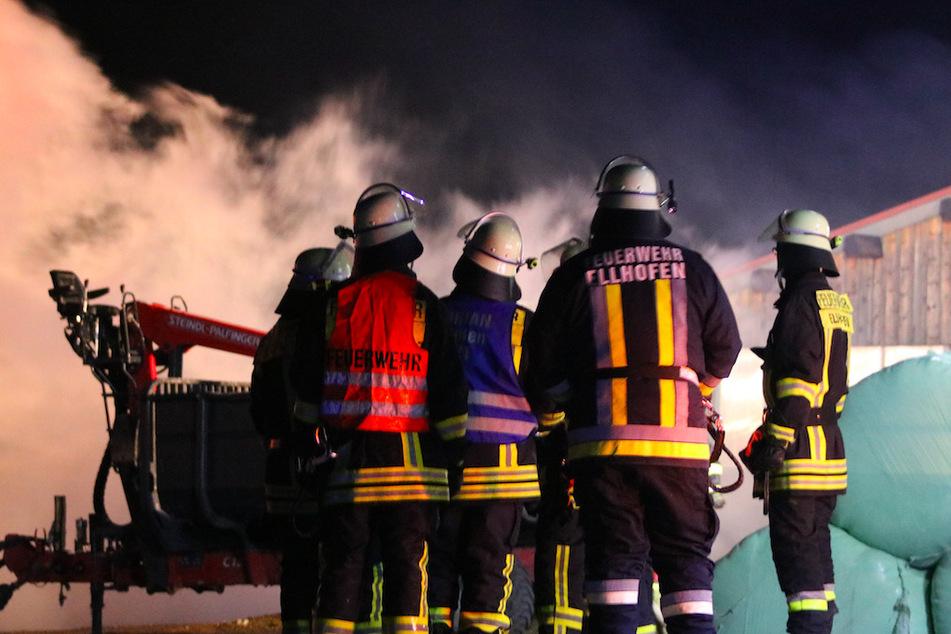 Die Feuerwehr konnte nichts tun, außer das Gebäude kontrolliert brennen lassen.