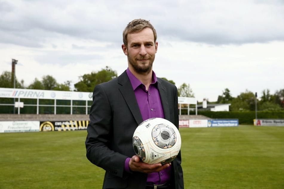 Oliver Herber (39) ist Geschäftsführer vom VfL Pirna-Copitz, der neben Fußball 13 weitere Sport-Abteilungen mit vielen Ehrenamtlern führt.