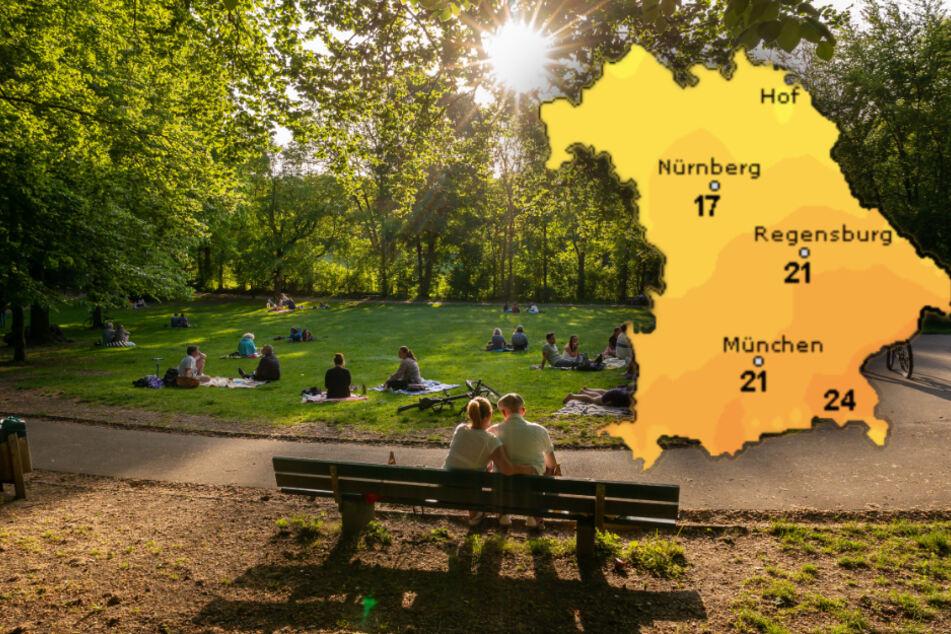 Wolken oder Sonne? So wird das Wetter in Bayern am Wochenende