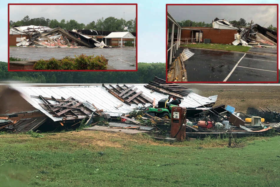 Tornado reißt mindestens sechs Menschen in den Tod