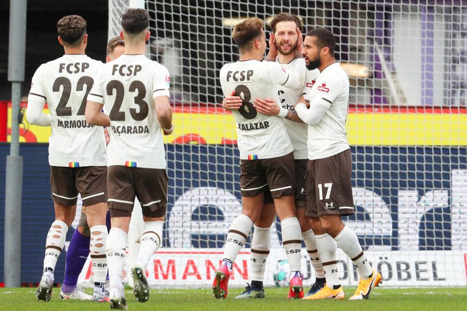 In der Rückrunde gelang dem FC St. Pauli ein beeindruckender Kampf aus der Abstiegszone ins Mittelfeld der Tabelle.