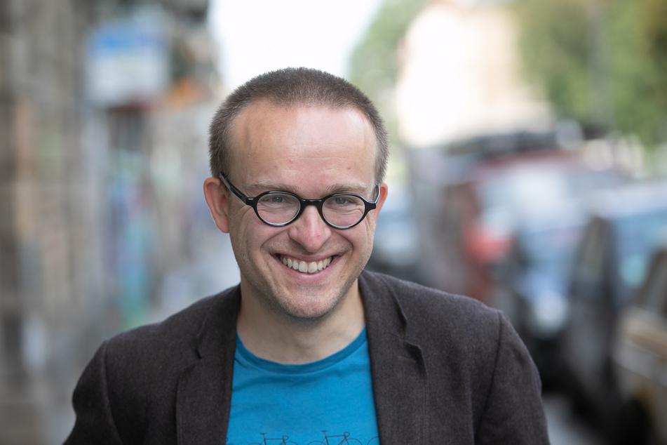 ADFC-Chef Konrad Krause (37).